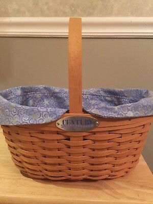 Longaberger 2000 CC Century Celebration  Basket Combo