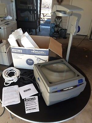 Apollo Horizon 2 Overhead Projector 15x14x27 Inches Open Head 16000 FREE SHIP