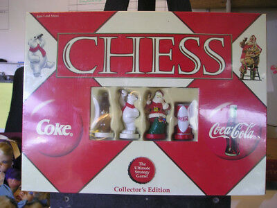 Coca Cola Collectors Edition  Factory Sealed Chess Set