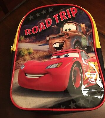 Disney Cars Toddler Size Backpack Road Trip