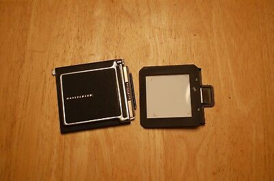 Hasselblad Cut Sheet Film Adapter And Dark Slide Film Holder
