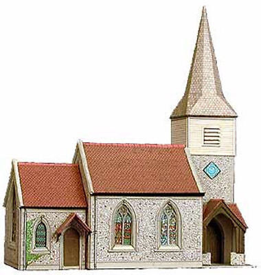Superquick Card Kit - Country Church #b29 - Fast &  Easy