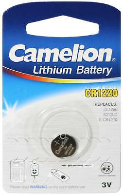 1x Camelion 3v CR1220 Lithium Battery Coin Cell Button Battery