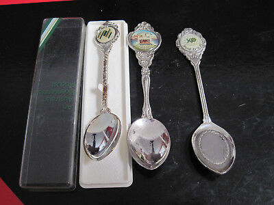 Collecton Of 3 X  Spoons. World Expo 88