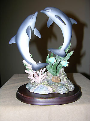 Maruri USA Wonders of the Sea Two Dolphins WS-9407