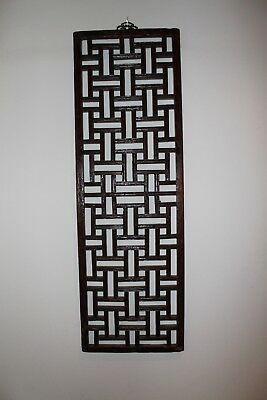 Antique Chinese Window Screen original condition