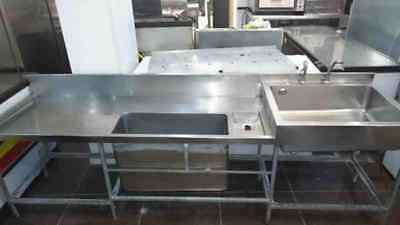 large commercial catering sink restaurant, takeaway, cafe