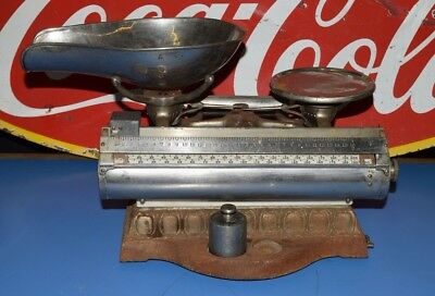 1898 Computing Scale Co. of Toronto Canada Nickle Plate Candy or Tobacco RARE