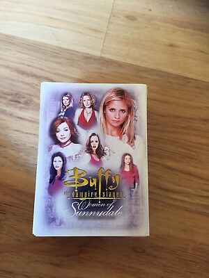 Buffy The Vampire Slayer - Woman Of Sunnydale Full Set 90 Cards