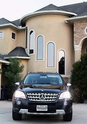 2010 Mercedes-Benz M-Class ML550 2010 MERCEDES - BENZ ML500!!! FULLY LOADED!!! 5.5L V8 382HP!!! AMG PACKAGE!!!OBO