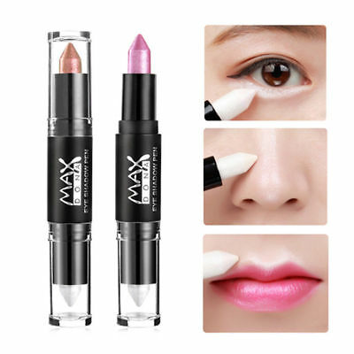 Women Eyeshadow Pencil Cosmetic Glitter Eye Shadow Eye Lip liner Pen Highlighter