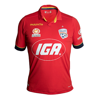Adelaide United Fc Home Shirt 2016/17 - With Free Name/number Printing!!