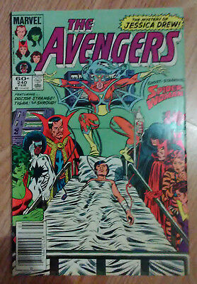 Avengers Vol 1 #240 (1984) Spider-Woman Dr Strange VF+ Combined Postage