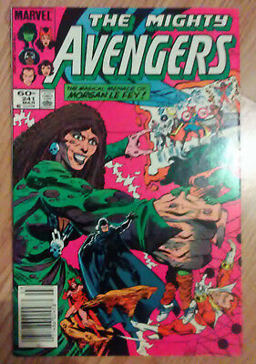 Avengers Vol 1 #241 (1984) Spider-Woman Morgan LeFay VF+ Combined Postage