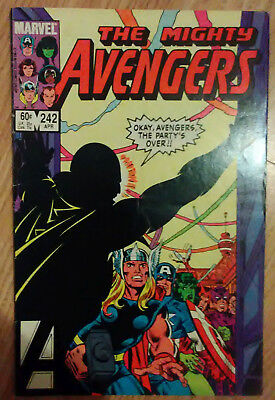Avengers Vol 1 #242 (1984) Mockingbird Henry Pym VF Combined Postage Available