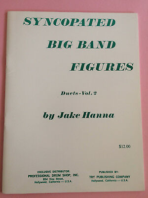 Syncopated Big Band Figures, Duets-Vol. 2, Jake Hanna