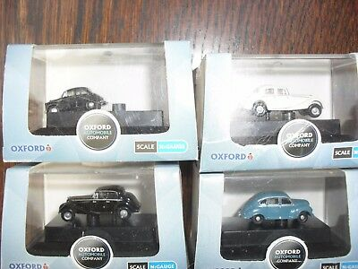 oxford four vehicles in original boxes as per photo