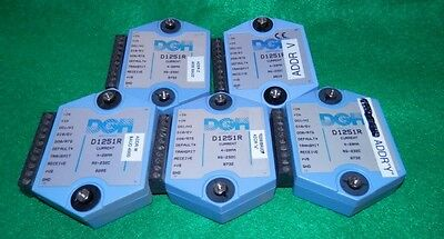 Lot of 5 DGH D1251R Input Module - Free Ship