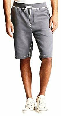 True Religion Men's Sweat Shorts in Grey Pavement