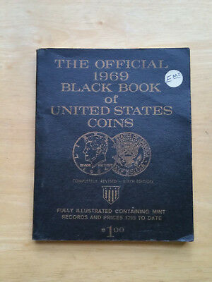 The Official 1969 Black Book Of United States Coins