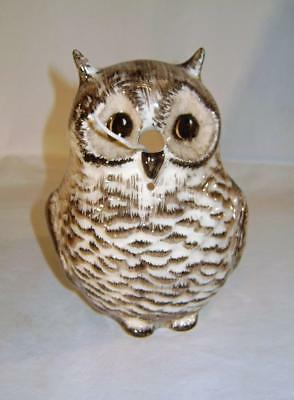 Vintage Owl Shaped String Dispensing Box : Babbacombe Pottery Torquay  / Devon