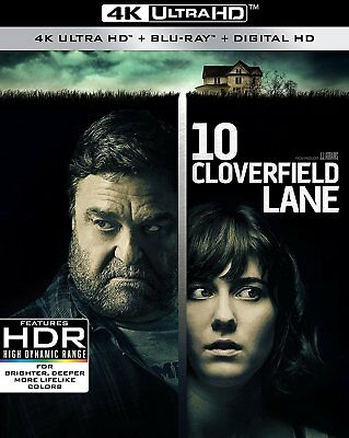 10 Cloverfield Lane (4K Ultra HD)(UHD)(Atmos)(Dolby Vision)