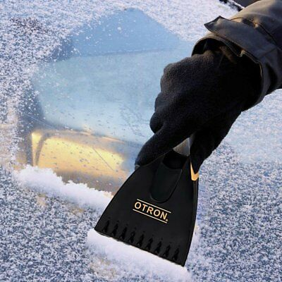 Car Ice Scraper Windshield Snow Frost Removal Brush Window Cleaner Brass Blade