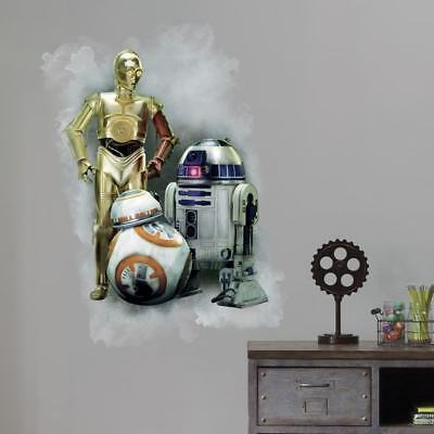 Wars The Force Awakens Giant Wall Graphic - Decor Wall Decor Nursery Baby  </fon