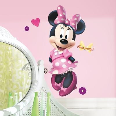 Minnie Bow-tique Peel & Stick Giant Wall Decal - Decor Wall Decor Nursery Baby