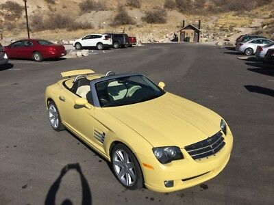 2005 Chrysler Crossfire Limited 2005 Chrysler Crossfire Convertible Roadster VERY LOW MILES, 16,690 miles