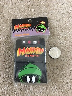 Warner Bros Studio Store Exclusive - New Marvin the Martian Pager Case (1998)