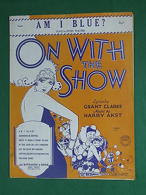 "Ethel Waters ""AM I BLUE?"" On With The Show Clarke & Akst 1929 VITAPHONE Warner"