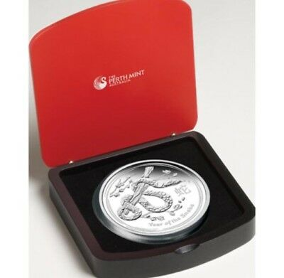 2013 Australia Year Of The Snake 1 oz. 999 Silver  Coin