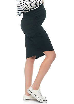 NEW - Bae - Stay Up Late Skirt in Black - Maternity Skirt