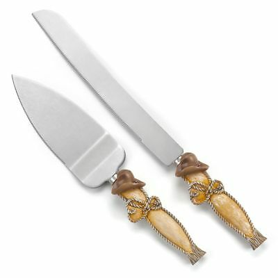 Wedding Cake Server and Knife Set Country Rustic Supplies
