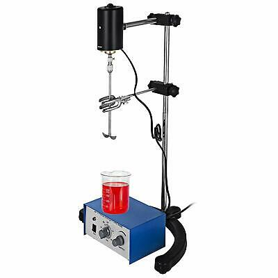Height Adjustable Electric Overhead Stirrer Mixer Drum Mix Biochemical Lab Tool