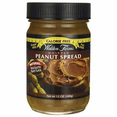 Walden Farms Calorie Free Whipped Peanut Spread 12 oz (340 grams) Jar
