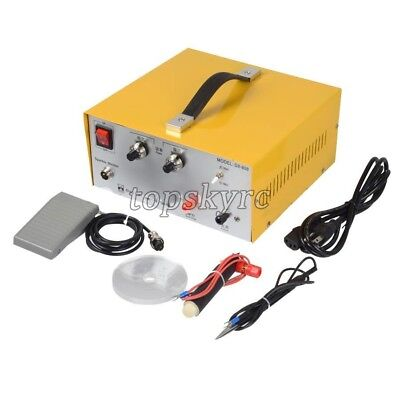 110V 220V 80A DX-808 Pulse Sparkle Spot Welder Gold Silver Jewelry Machine Tool