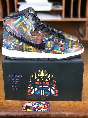 more photos b7279 0f963 Nike Dunk High Pro SB Concepts Holy Grail Stained Glass (313171-606) Mens