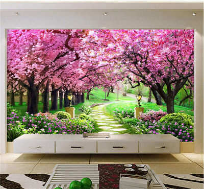 Quiet Coherent Road 3D Full Wall Mural Photo Wallpaper Printing Home Kids Decor