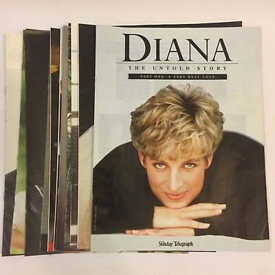 Diana The Untold Story Magazine Collection