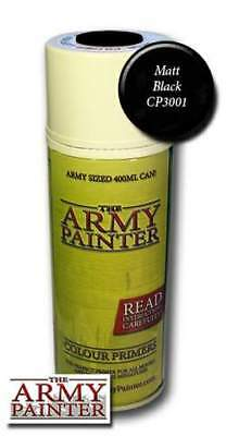 The Army Painter: Base Primer - Matt Black Spray (Grundierungsspray schwarz)