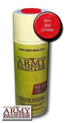 The Army Painter: Primer - Pure Red Spray (Grundierung hellrot)