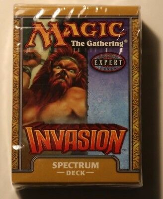 Magic the Gathering Invasion Spectrum Deck OVP sealed Expert Level