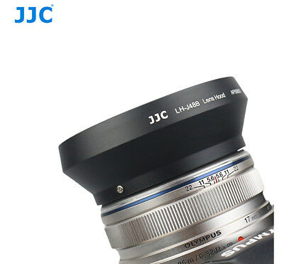 JJC Pro Lens Hood for Olympus M.Zuiko Digital 17mm f/1.8 Lens as Olympus LH-48B
