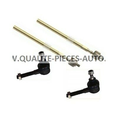 2x Rotules de Direction + 2x Axiales - Citroen C15 Peugeot 205 309