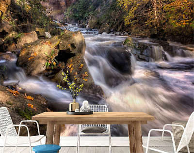 Steep Spring Water 3D Full Wall Mural Photo Wallpaper Printing Home Kids Decor