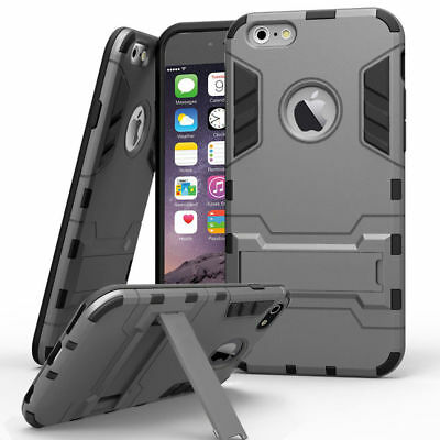 Case for iPhone X 5s 6s 7 8 PLUS 10 Hard Back Shockproof Tough Armour Heavy Duty