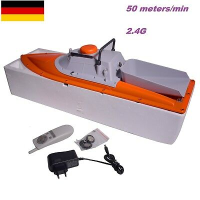 Professional Remote Control Range 300 Meters High Speed Fishing Bait Boat JB-1AL