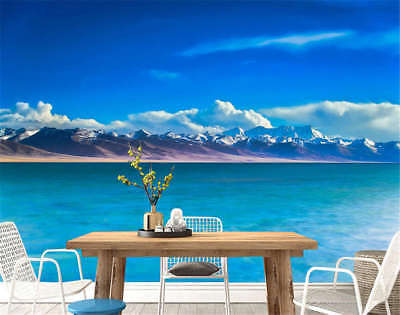 Clear Concise Lake 3D Full Wall Mural Photo Wallpaper Printing Home Kids Decor